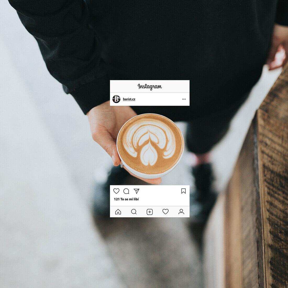 10 nejlepších českých Instagram profilů zaměřených na kávu