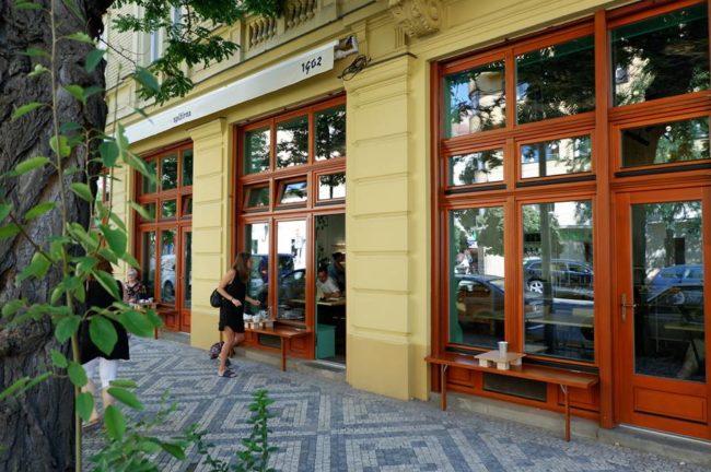 Spižírna 1902 kavárna Lukáš Hejlík
